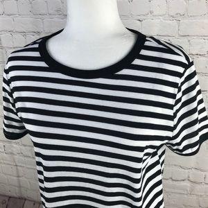 Divided Dresses - NWOT Divided H&M Black & White Striped Shirt Dress